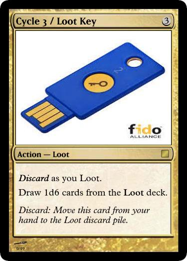Cycle 3 Loot Key