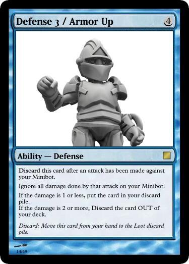 Defense 3 Armor Up