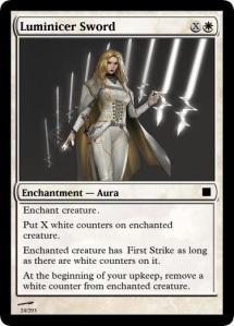 Luminicer Sword