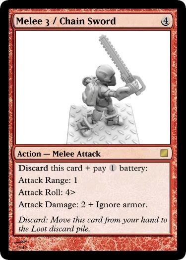 Melee 3 Chain Sword