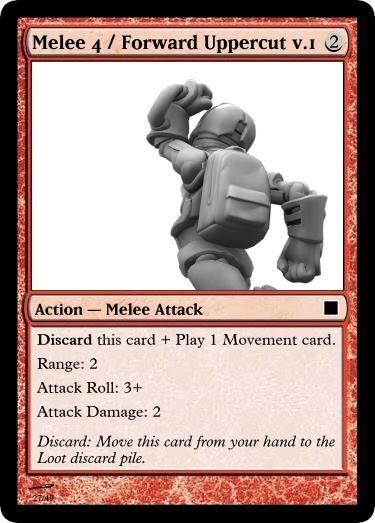Melee 4 Forward Uppercut v.1
