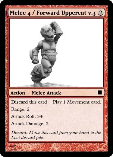 Melee 4 Forward Uppercut v.3