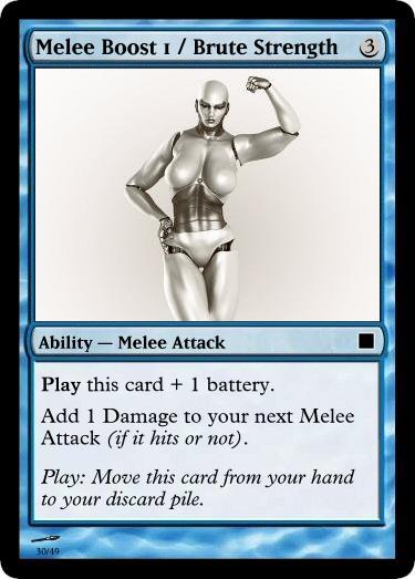 Melee Boost 1 Brute Strength