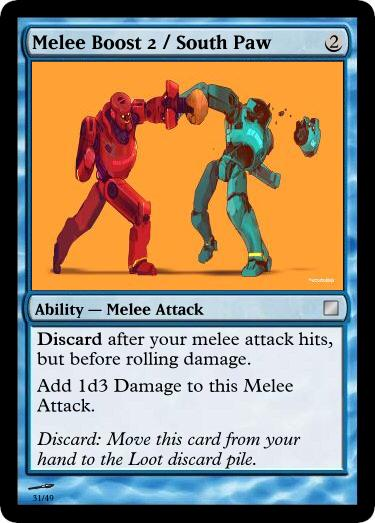 Melee Boost 2 South Paw