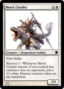 Shock Cavalry