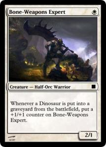 Bone-Weapons Expert