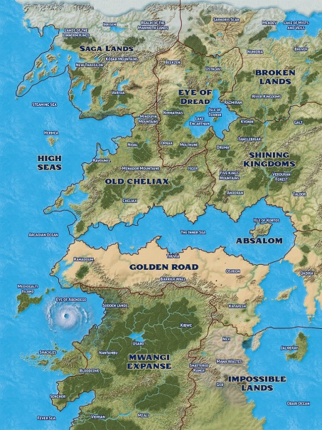 Official Map of Golarion