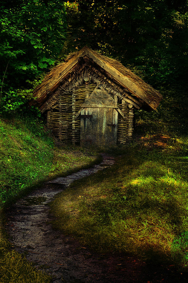 old-fisherman-hut-in-the-forrest-jaroslaw-blaminsky